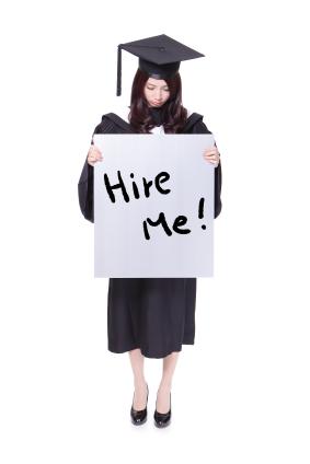 woman graduate student unemployment